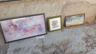 3 cuadros de decoracion