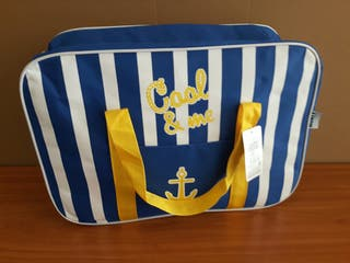 bolsa nevera de playa Anarillo 45 x 16 x 31. artic