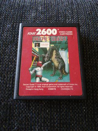 atari 2600 juego Secret Quest