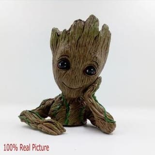 14CM Guardians of The Galaxy Baby Groot Figure Flo
