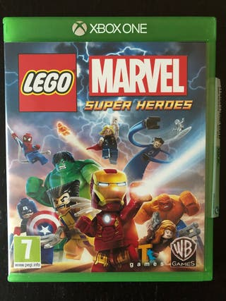 Juego Lego marvel superheroes xbox one