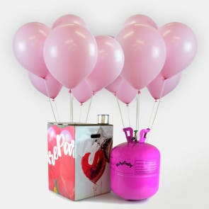 50 globos babyshower + bomobona Maxi
