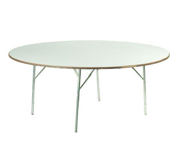 mesas redondas alquiler