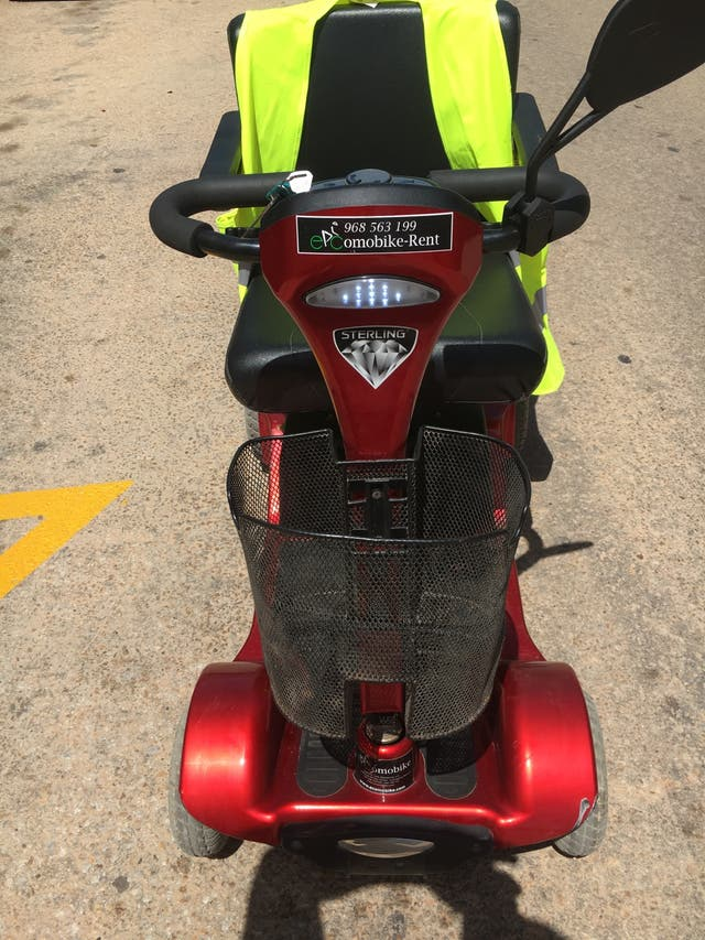 Scooter electrico minusvalido