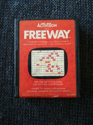 Atari 2600 juego Freeway