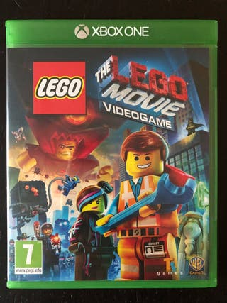 Juego lego the movie xbox one