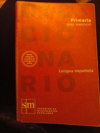 diccionario primaria nivel avanzado