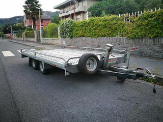 Remolque portacoches 1400kg Carnet B