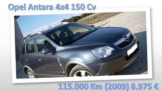 Opel Antara 4x4 (2009) 150 caballos