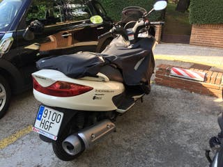 Moto Suzuki Burgman 125 Execut