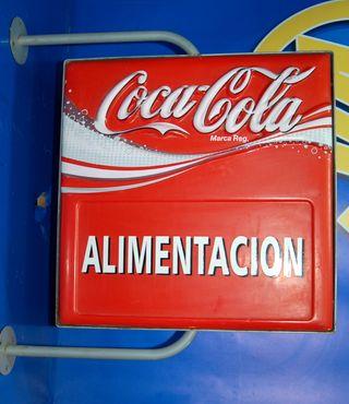 Cartel alimentacion COCA-COLA - CARTEL COCACOLA