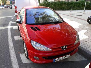 Peugeot 206 cabrio coupe 2004