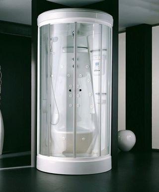 Cabina de ducha sauna luxury