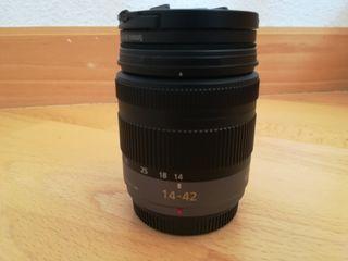 Objetivo micro 4 tercios Panasonic 14-42