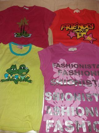 Lote de camisetas talla M