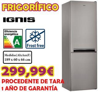 FRIGORÍFICO IGNIS INOX A+ NOFROST