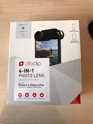 Olloclip iphone 6, 6s y 6 plus