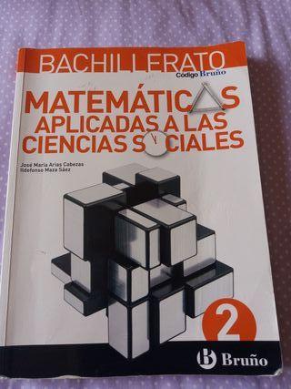 LIBRO DE MATEMÁTICAS APLICADAS 2°DE BACHILLER
