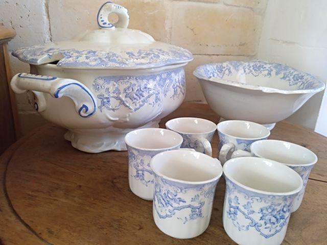 antigua porcelana de Limoges