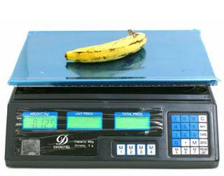 bascula balanza sobremesa nueva 40kg de peso