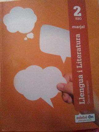 libro 2° ESO Llengua i literatura