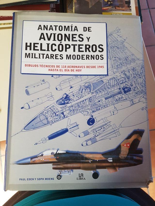 LIBRO DE ANATOMIA DE AVIONES Y HELICOPTEROS de segunda mano por 15 ...