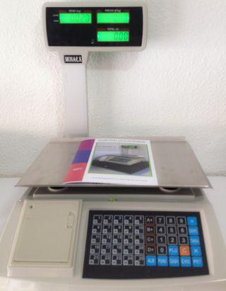 bascula balanza nueva programable ticket peso 30kg