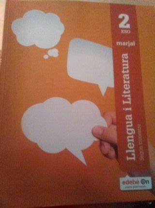 libro 2°ESO Llengua i literatura segundo trimeste
