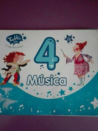 Libro de Música 4°primaria