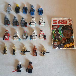 LEGO LOTE FIGURAS STAR WARS ORIGINALES