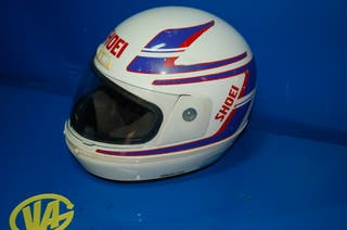 Casco antiguo Motociclismo SHOEI buen estado-59