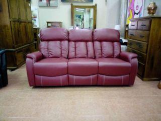 Sofa Reclinable Tres Plazas