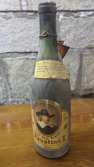 Botella Faustino I de 1973