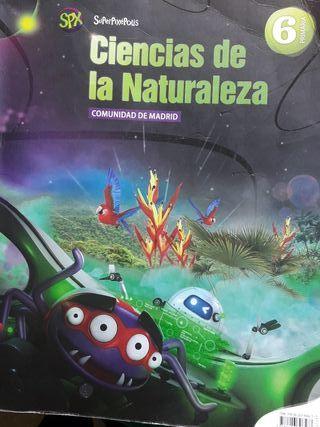 libro de 6 ciencias de la naturaleza