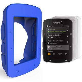 Funda compatible garmin edge 520 azul