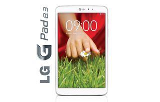 Tablet LG G Pad 8.3 Blanco - Compara con iPad