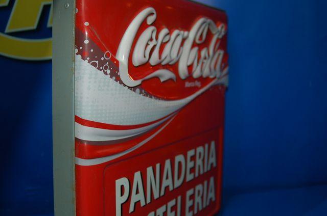 Cartel panaderia-pasteleria COCA-COLA - CARTEL