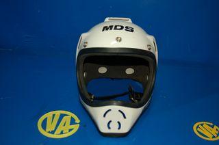 Casco antiguo Motociclismo y Kart MDS Fiberglass