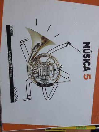 libro de musica 5 primaria