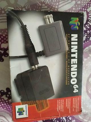 Adaptador antena Nintendo 64