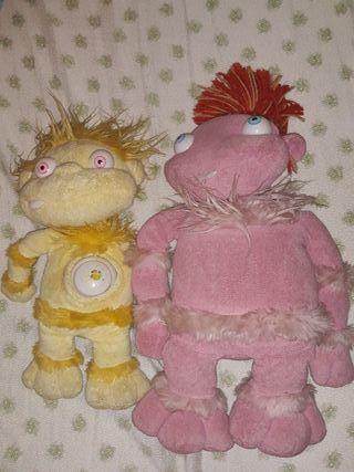 Lulila y Lucho de juguete
