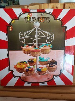 Carrusel para cupcakes