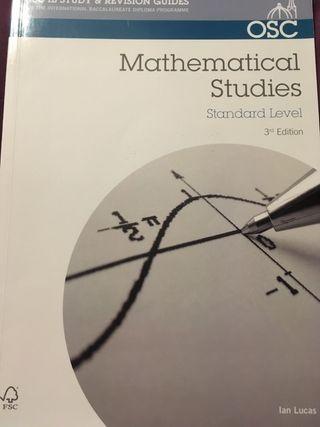 Mathematical Studies Guide IB