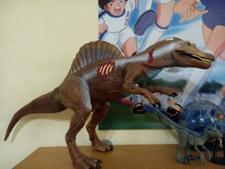 jurassic park spinosaurus electrónico kenner hasbr