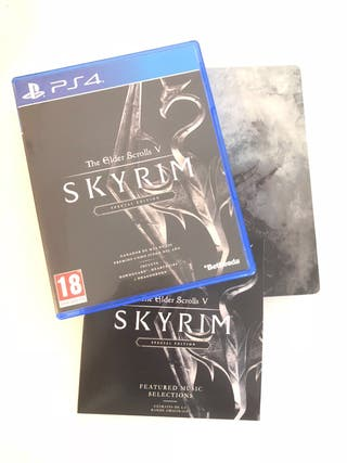 Juego Ps4 - The Elder Scrolls V: Skyrim