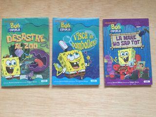 Libro infantil de Bob esponja