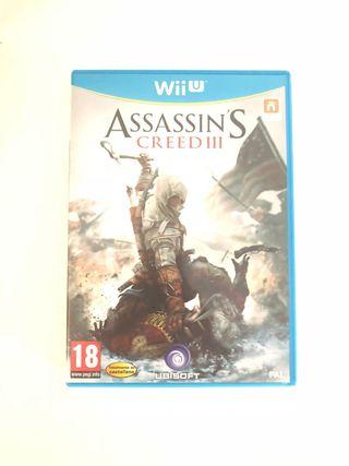Juego WiiU - Assassins Creed III