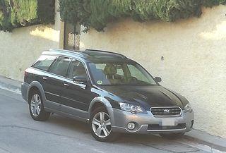 Subaru Outback 3.0r 250cv 6 cilindros bóxer 4x4