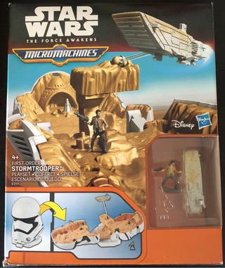 STAR WARS- StormTrooper MicroMachines