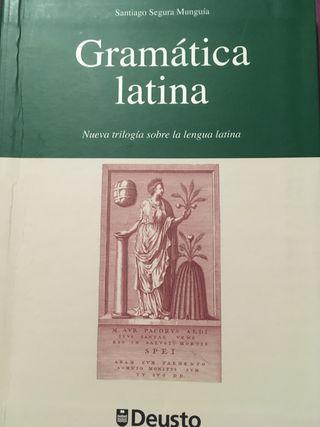 Gramática latina. Santiago Seg